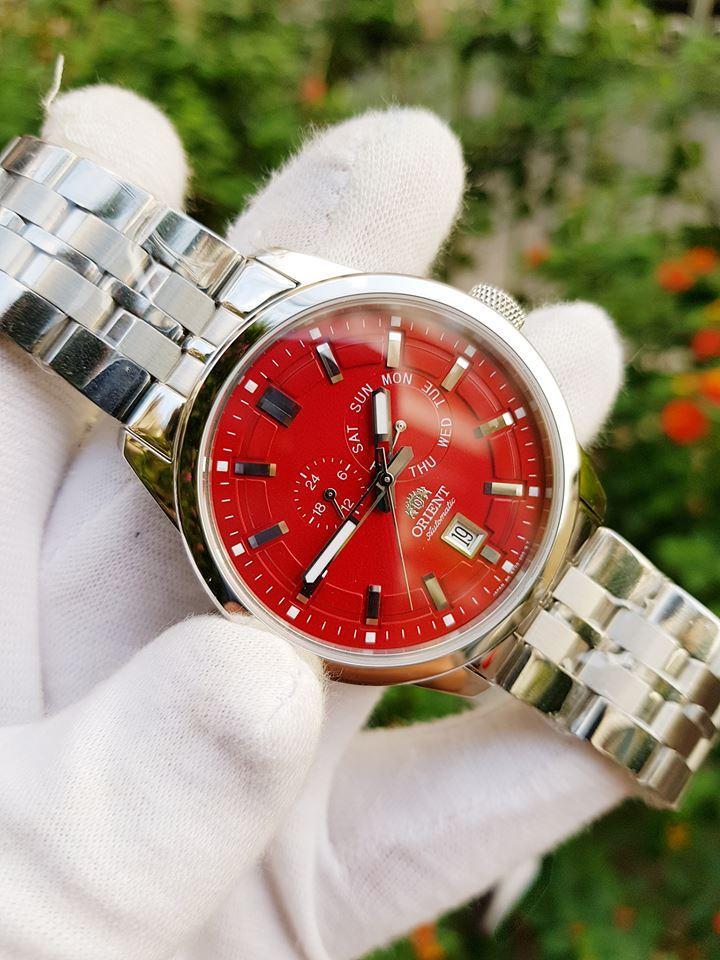 Nơi bán Đồng hô chính hãng Orient SET0S001H0 mặt đỏ tươi may mắn