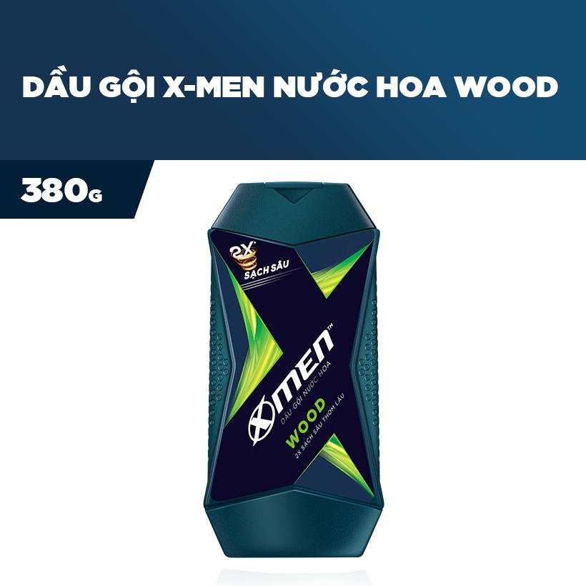 Dầu Gội Nước hoa X-Men Wood 380g