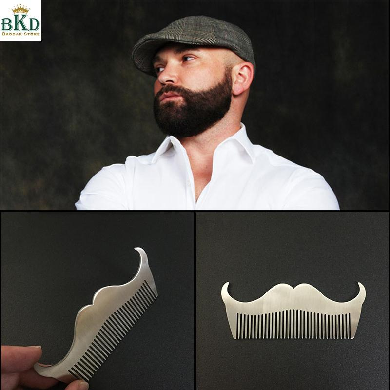 Mens Beard Combs Moustache Comb Gents Fashion Hair Gift Cleaning Facial