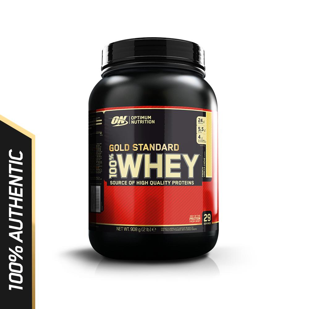 Bán Thực Phẩm Bổ Sung Optimum Nutritiongold Standard 100 Whey French Vanilla Creme2 Lbs Optimum Nutrition