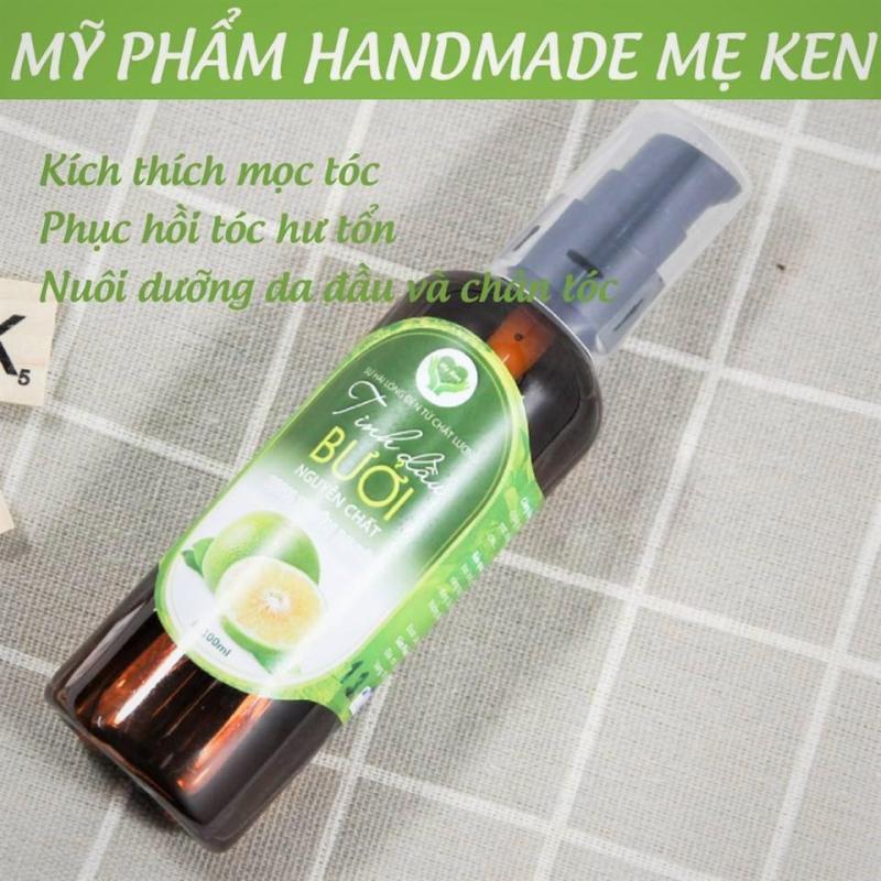 Tinh dầu bưởi Mẹ Ken Kích thích mọc tóc, đặc trị hói đầu, phục hồi tóc hư tổn, nuôi dưỡng tóc chắc khỏe, bóng mượt cao cấp
