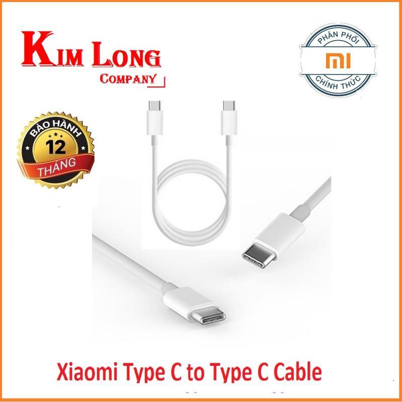Dây cáp sạc Xiaomi USB Type C 150cm - Hãng phân phối
