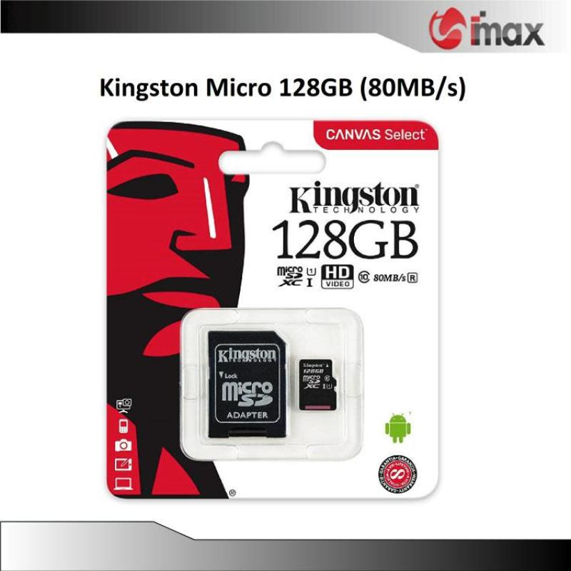 Thẻ nhớ Kingston Micro SDXC 128GB (80MB/s)