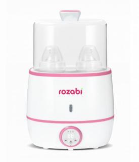 Máy hâm sữa tiệt trùng siêu tốc cao cấp Rozabi Flash 500W HB-055E (Trắng) thumbnail