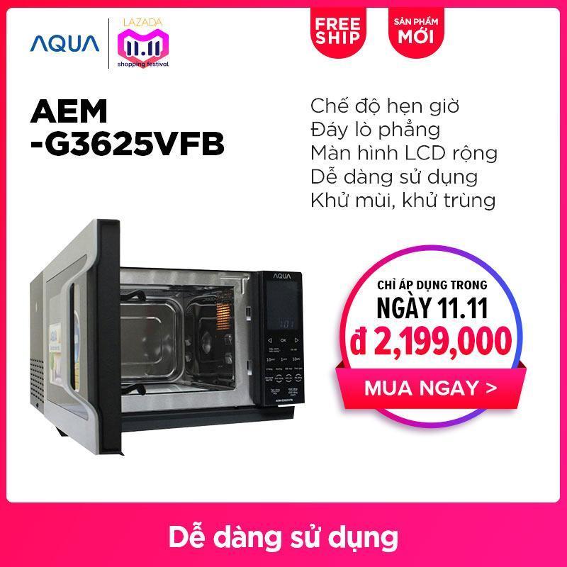 Lò vi sóng AQUA AEM-G3625VFB - Hãng phân phối chính thức