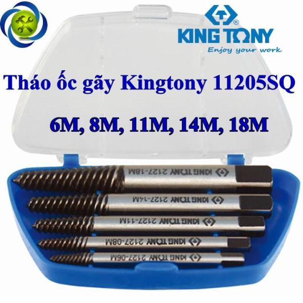 Tháo ốc gãy Kingtony 11205SQ 5 cây