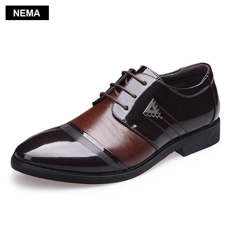 Hình ảnh Giày tây da nam đế cao NEMA NMG8523