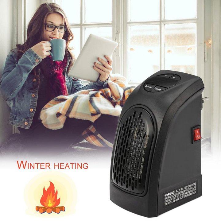 Quạt sưởi điện mini có thể điều chỉnh nhiệt độ