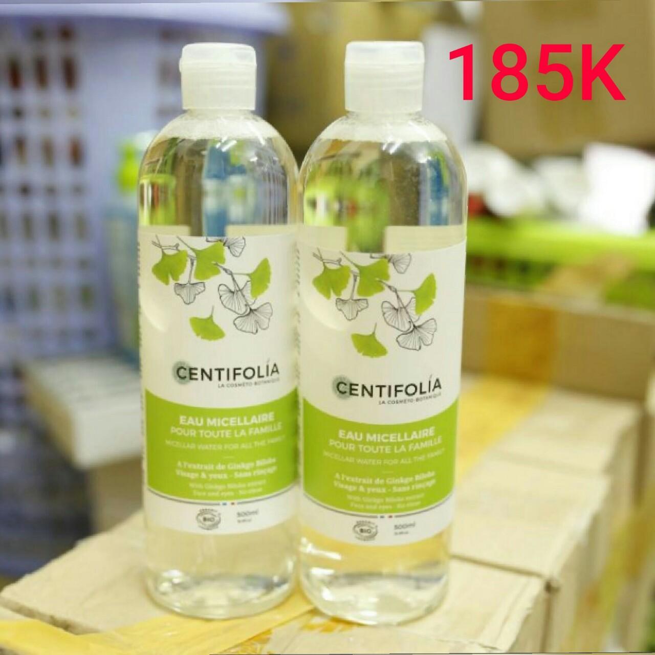 Hình ảnh Nước tẩy trang rau má Centifolia Micellaire Water Pháp 500ml