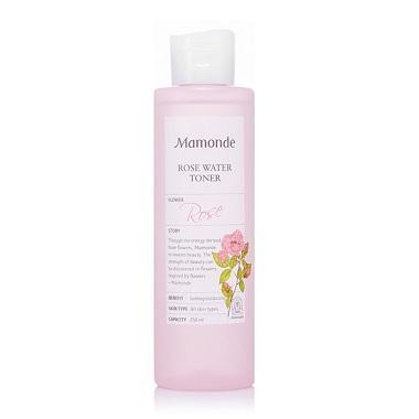 Nước hoa hồng không cồn Mamonde Rose Water Toner 250ml tốt nhất