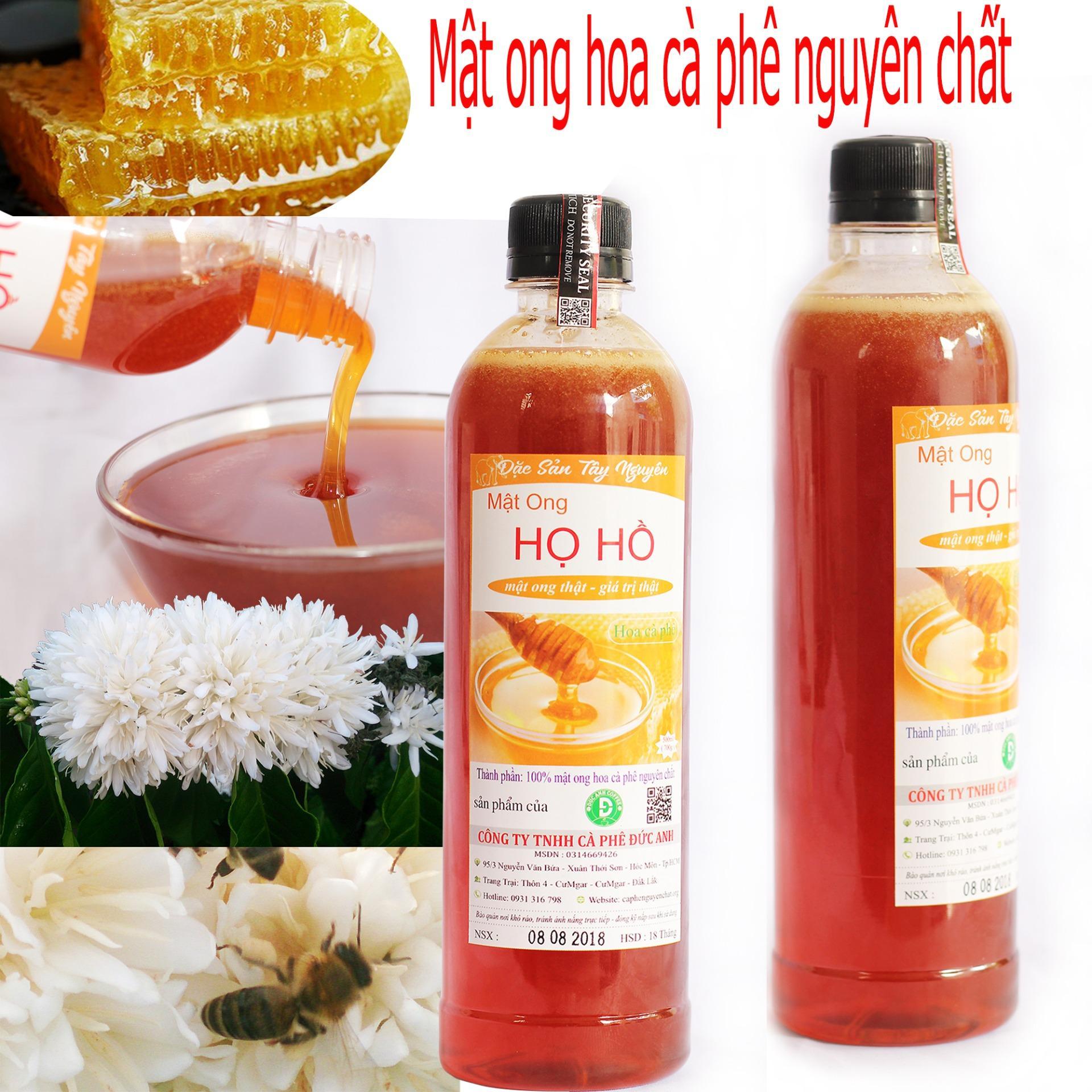 Hình ảnh 1 lít mật ong hoa cafe nguyên chất - mật thật giá trị thật - ( MẬT ONG HỌ HỒ THUỘC CÔNG TY TNHH CÀ PHÊ ĐỨC ANH - cam kết đổi trả nếu không vừa ý)