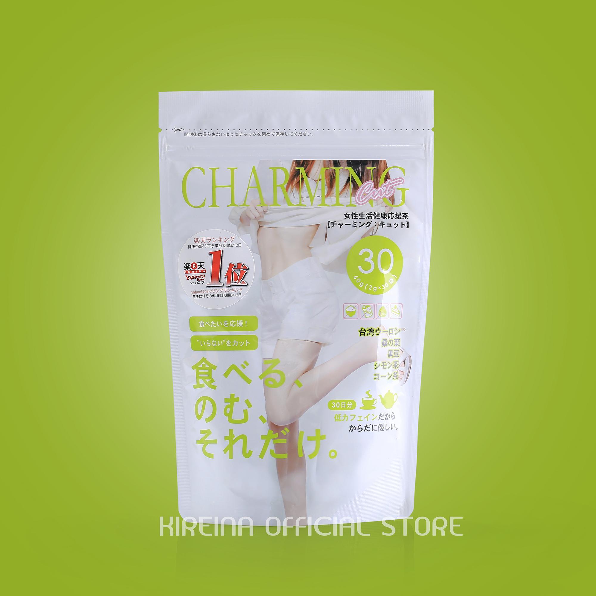 Trà giảm cân Charming Cut bán chạy số 1 Nhật Bản