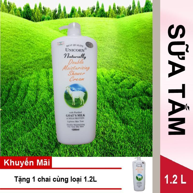 Mua 1 Sữa tắm Unicorn Naturally 1.2L tặng 1 chai cùng loại nhập khẩu