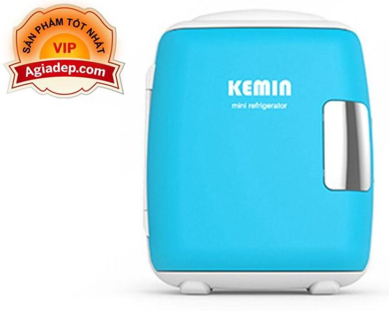 Tủ lạnh mini KEMIN cao cấp của Agiadep (Dùng cả trong nhà, Trên oto, Du lịch) - Loại 4L