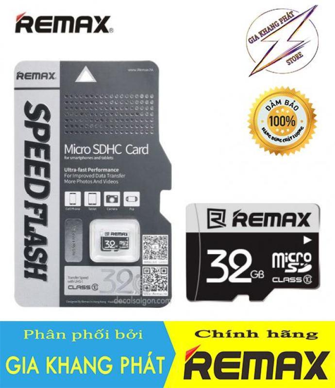 Thẻ nhớ Micro SDHC Remax 32GB Class 10