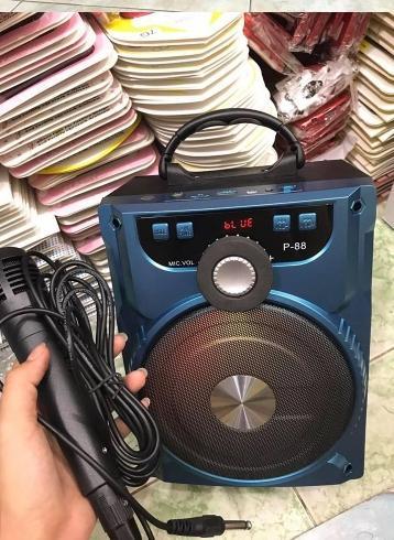 Loa bluetooth hát Karaoke P88 P89 tặng kèm Micro