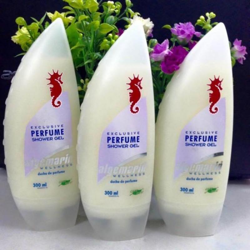 Sữa Tắm Dưỡng Trắng Da Cá Ngựa Algemarin 300ml
