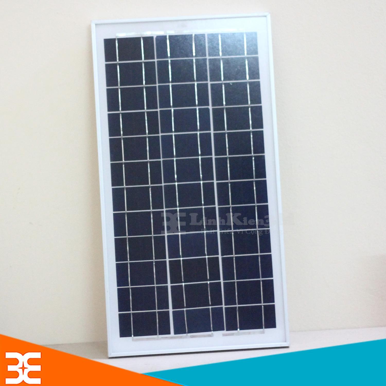 Tấm Pin Năng Lượng Mặt Trời 18V 20W 58x28x1.7cm(Khung Nhôm)