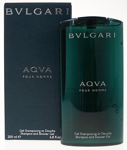 Gel Tắm Gội Bvlgari Aqva Pour Homme Shampoo & Shower Gel - 200ml