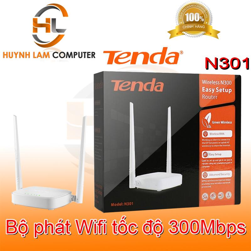 Bộ phát wifi Tenda N301 Microsun phân phối - Router wifi Tenda N301