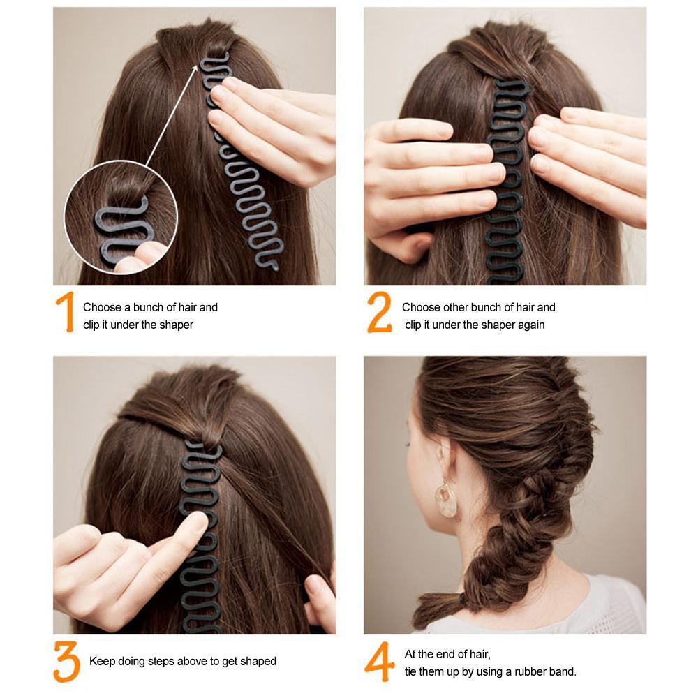 Hình ảnh Dụng cụ thắt bím tóc chuyên nghiệp
