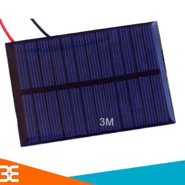 [Tp.HCM] Tấm Pin Năng Lượng Mặt Trời 6V 0.6W 100mA 80x55mm