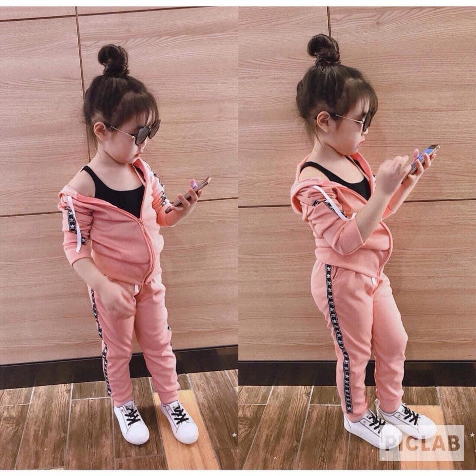 Hình ảnh Bộ adida dài tay cho bé