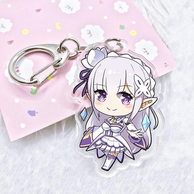 Móc Khóa Emilia - Re:Zero