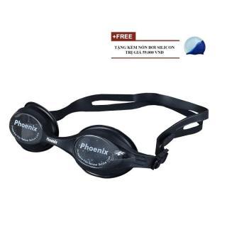 Kính Bơi Phoenix 207 + tặng kèm mũ bơi Silicon thumbnail