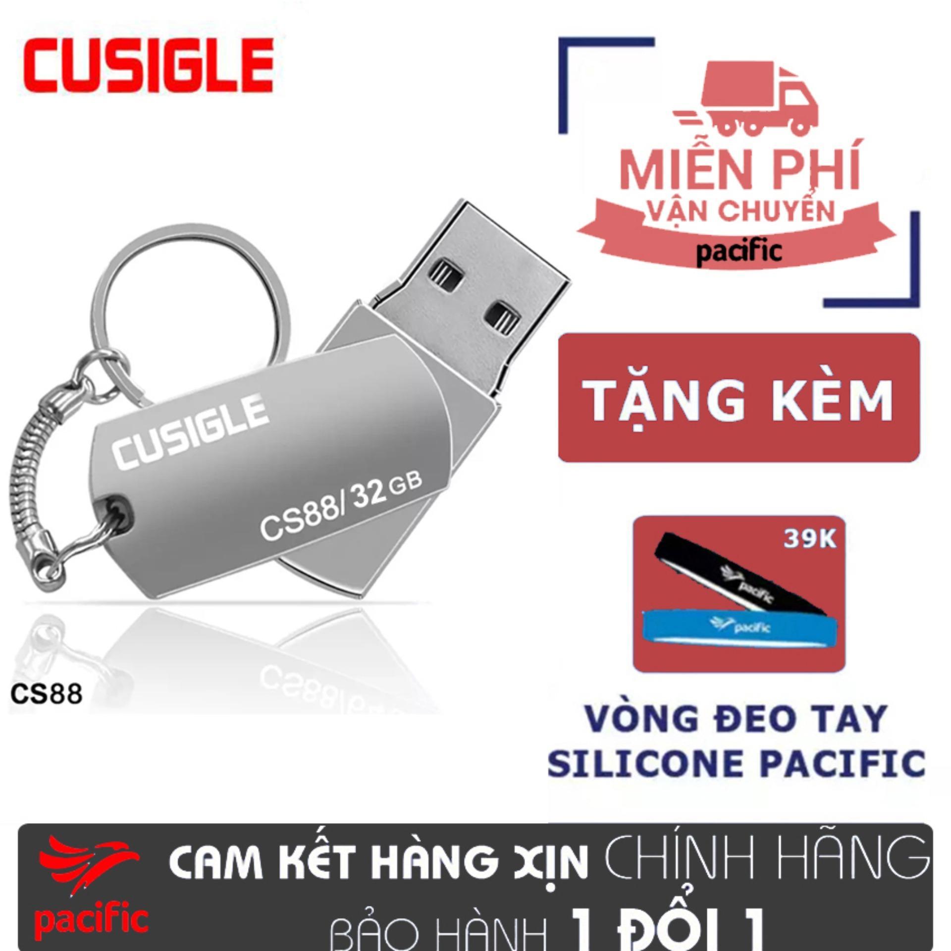 Hình ảnh USB 32Gb Cusigle CS88 2018 - Tặng Vòng đeo tay Silicone Pacific