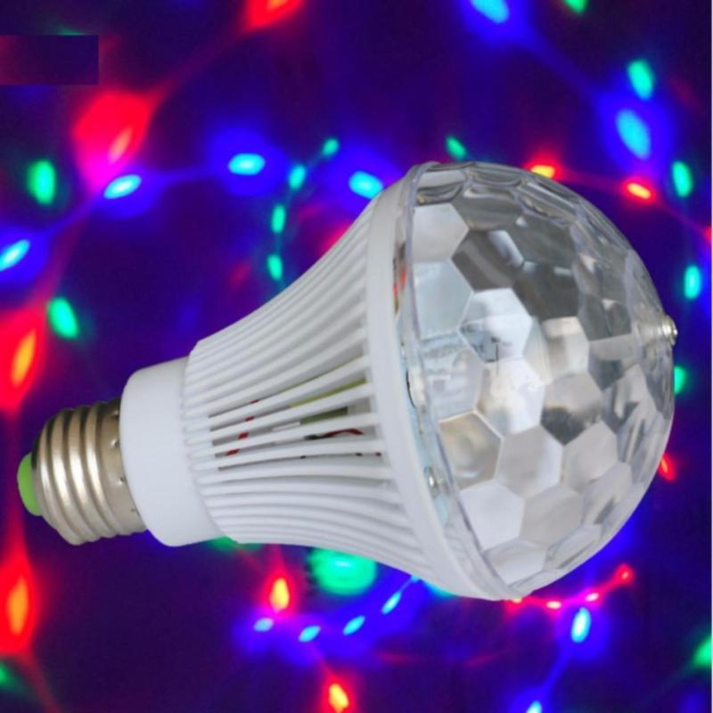 Bóng đèn Led xoay 7 màu E27- Better Shop