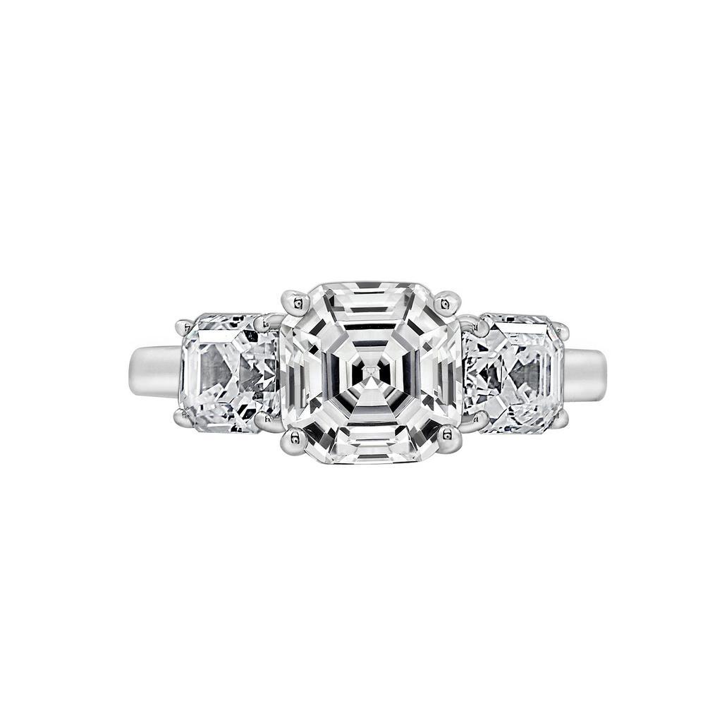 Nhẫn nữ Sparkling Beauty J'admire bạc cao cấp mạ Platinum đính đá Swarovski® trắng size 7