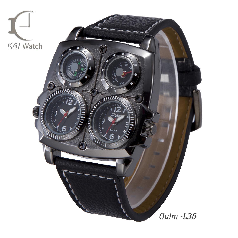 Nơi bán Đồng hồ nam OULM - L38 Kèm la bàn nhiệt  kế- KAI WATCH