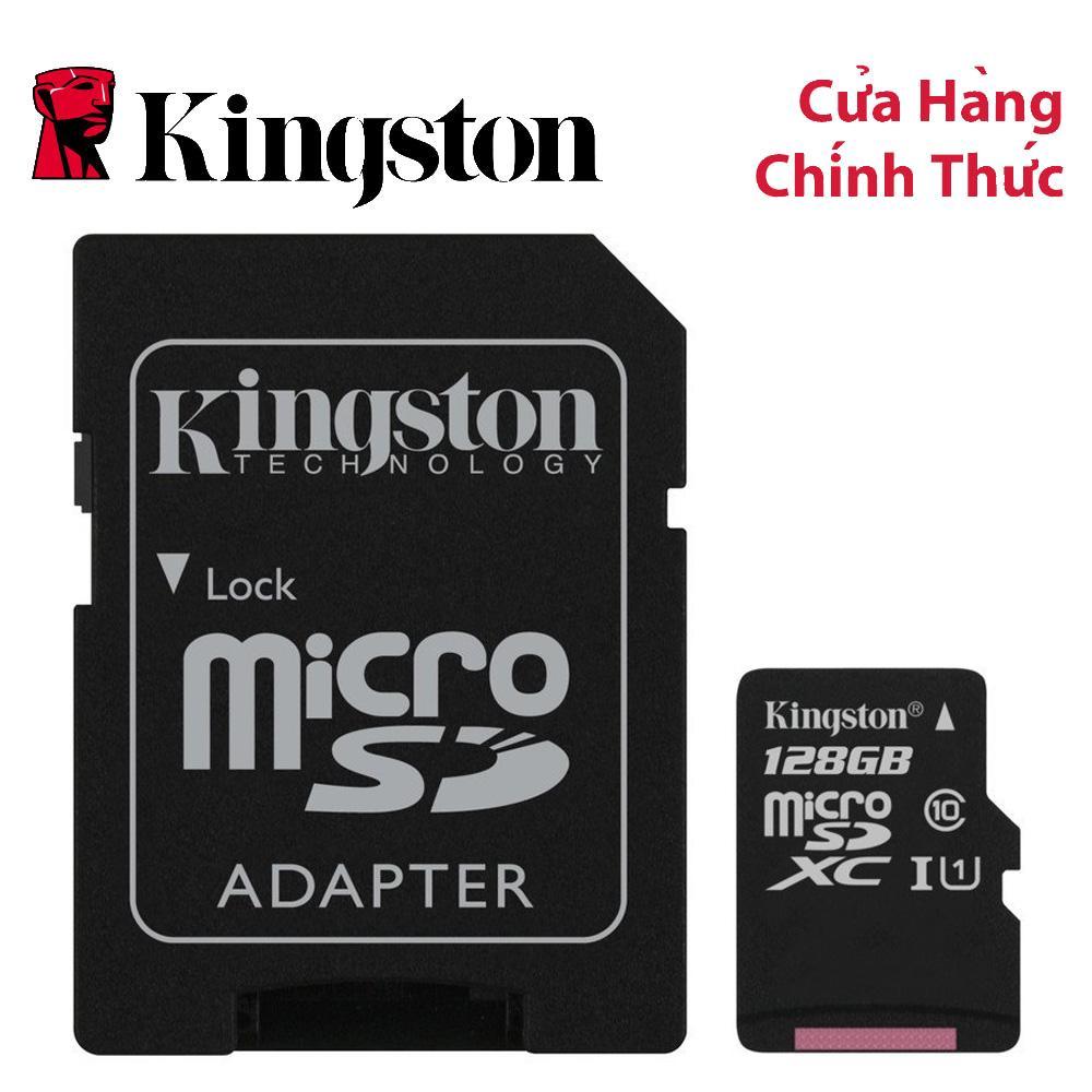 Thẻ Nhớ MicroSDXC Kingston Canvas Select 128GB Class 10 U1 (SDCS/128GB) Đang Khuyến Mãi