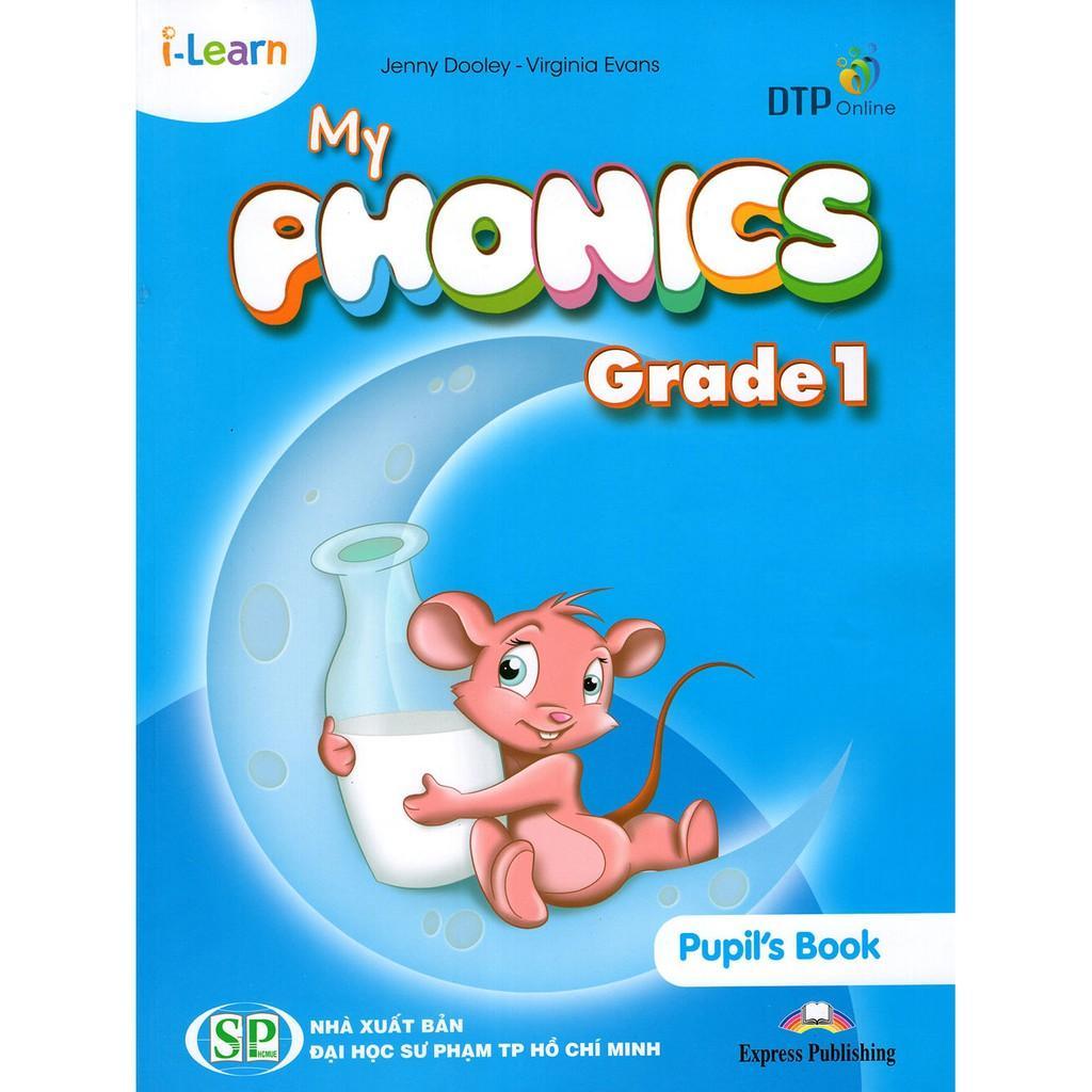 Mua Bộ sách My Phonics Grade 1 (gồm 2 cuốn Puplis Book + Actibity book)