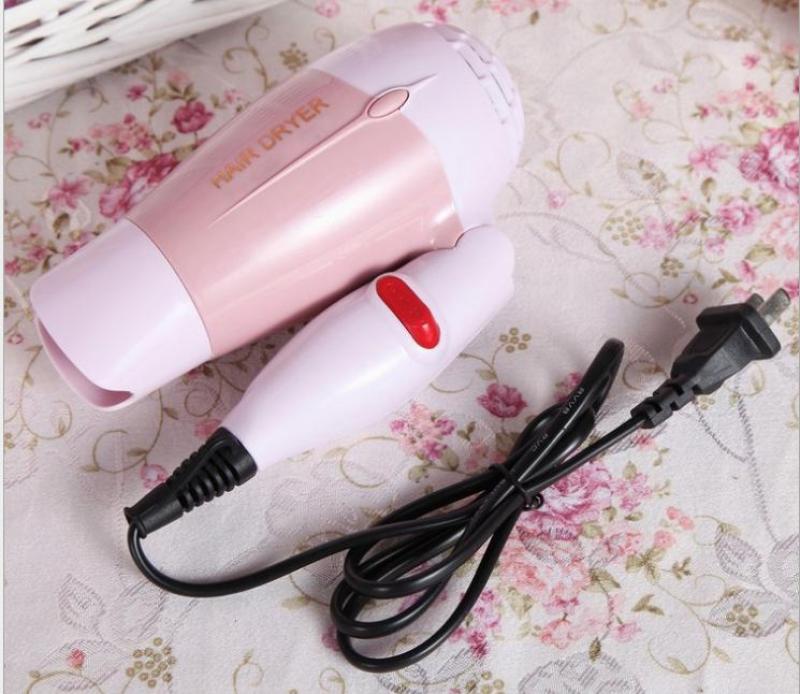 Máy sấy tóc gấp gọn Hair Dryer TP02 800W (Hồng)