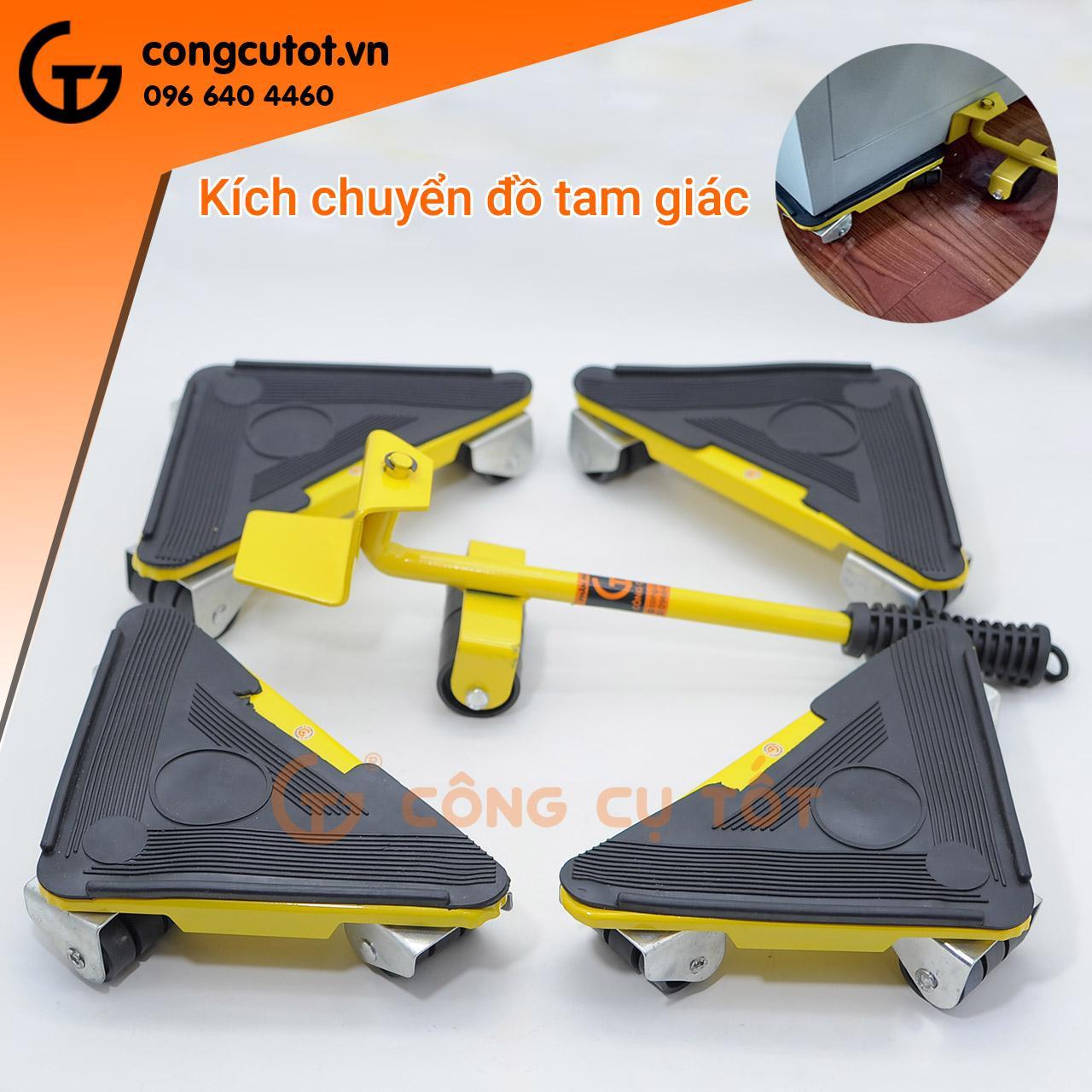 Bộ dụng cụ nâng và di chuyển đồ tam giác bằng sắt