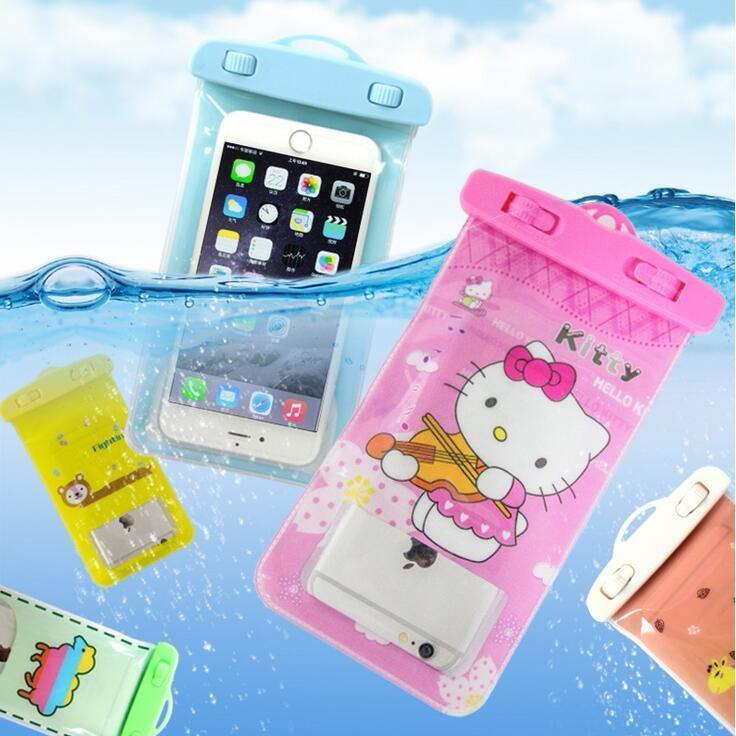Hình ảnh Túi đựng điện thoại chống nước có hình ảnh đẹp ( Dùng được trên mọi loại điện thoại )