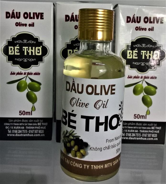 Tinh dầu Olive Bé Thơ 50ml