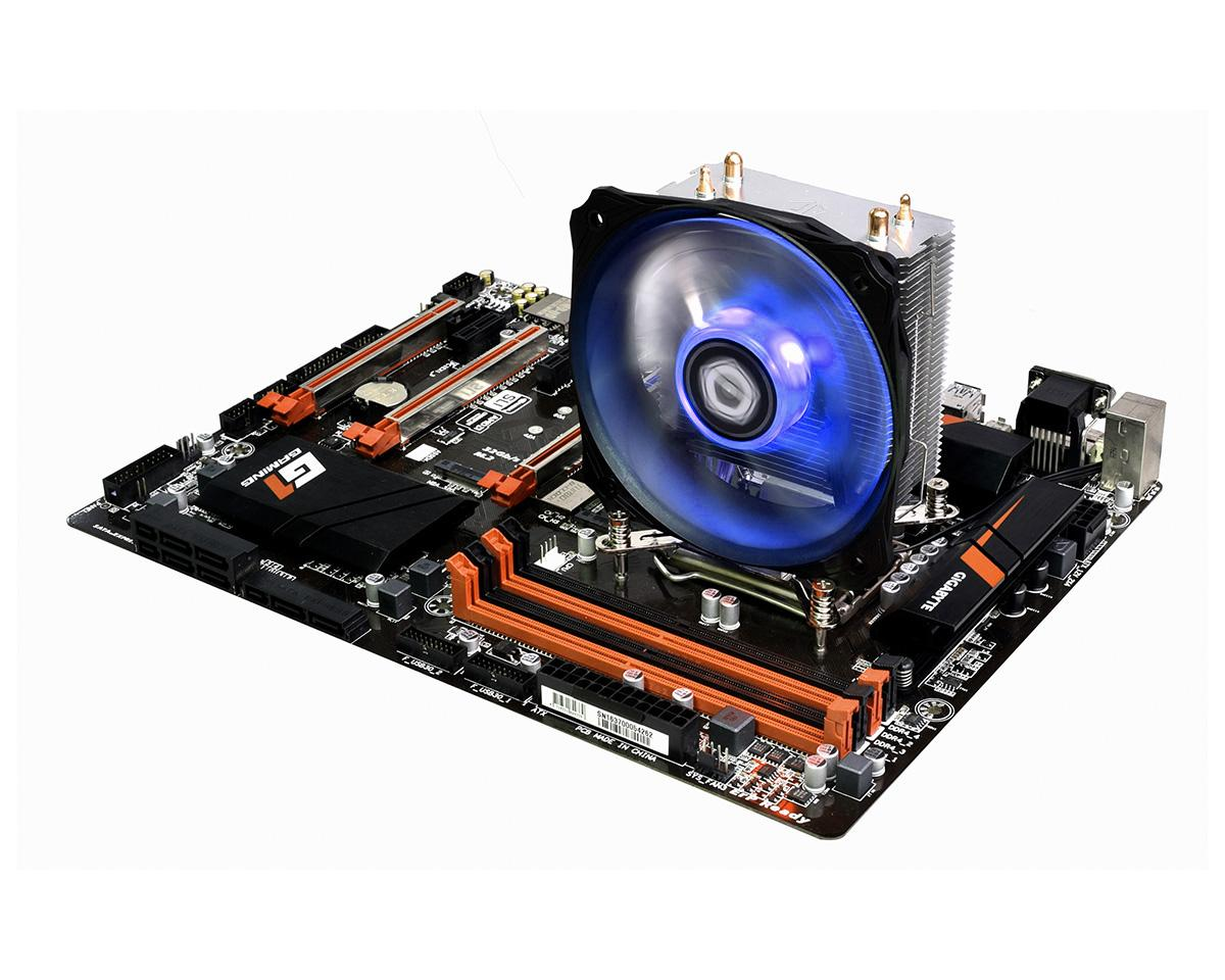 Quạt tản nhiệt cpu ID-Cooling SE-912i (Led xanh) - Hiệu năng mạnh mẽ, tương thích socket 115x, 1366