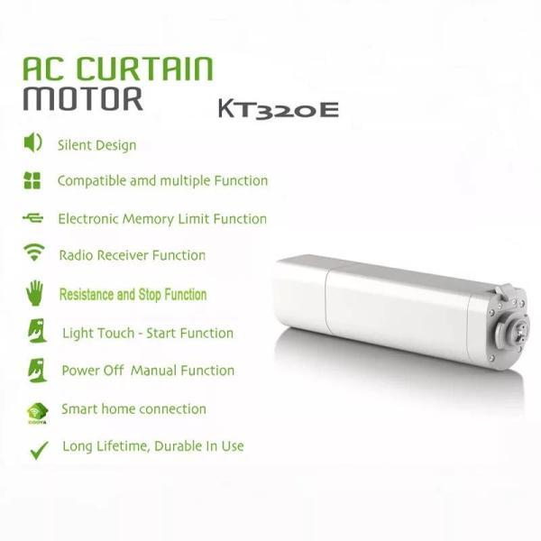 Rèm tự động Motor KT320E 45W + Điều khiển