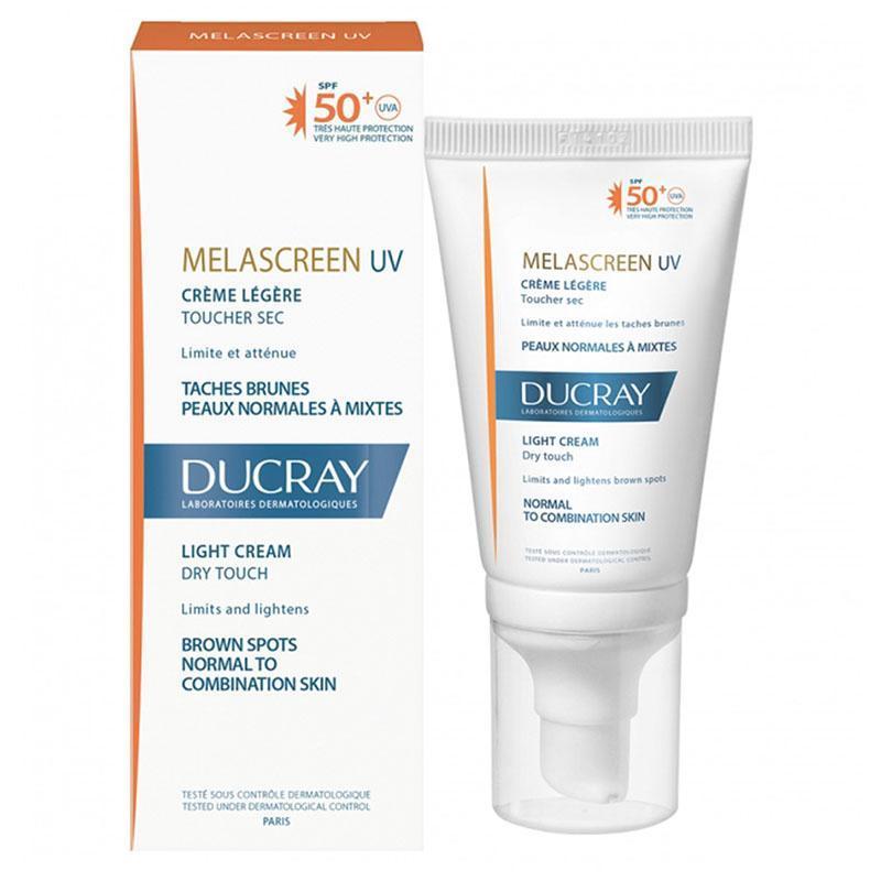 Ducray Kem Chống Nắng Giảm Đốm Nâu Melascreen Photoprotection Light Cream SPF 50+ 50ml