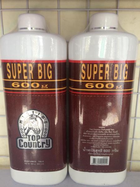 Phấn thơm Top Country Supper big 600g Thái Lan nhập khẩu