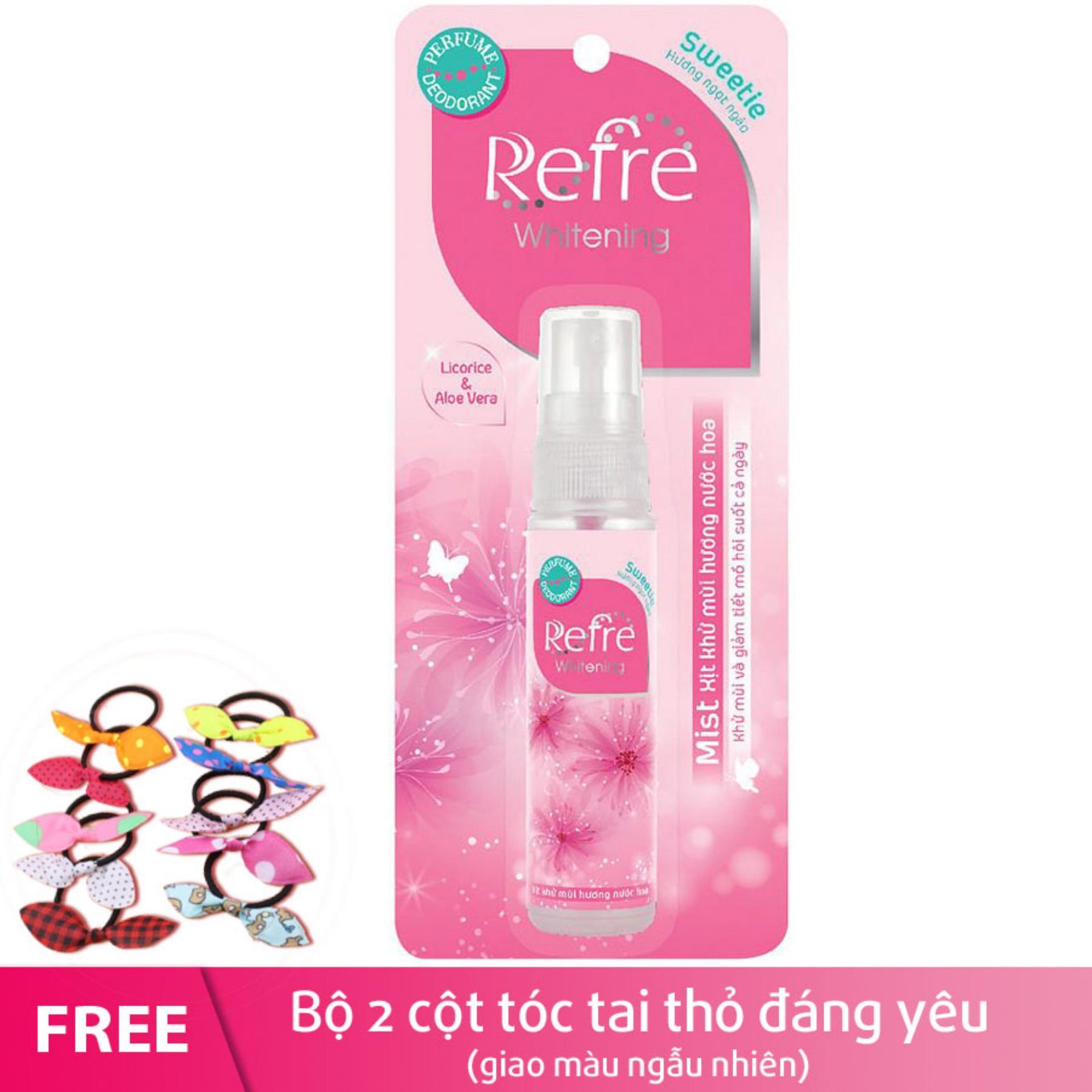 Hình ảnh Xịt khử mùi hương nước hoa Refre Whiterning Sweetie (Hương ngọt ngào) 30ml