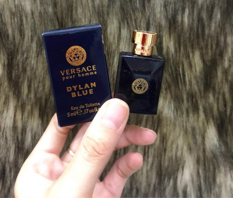 Nước hoa Versace Pour Homme Dylan Blue 5ml