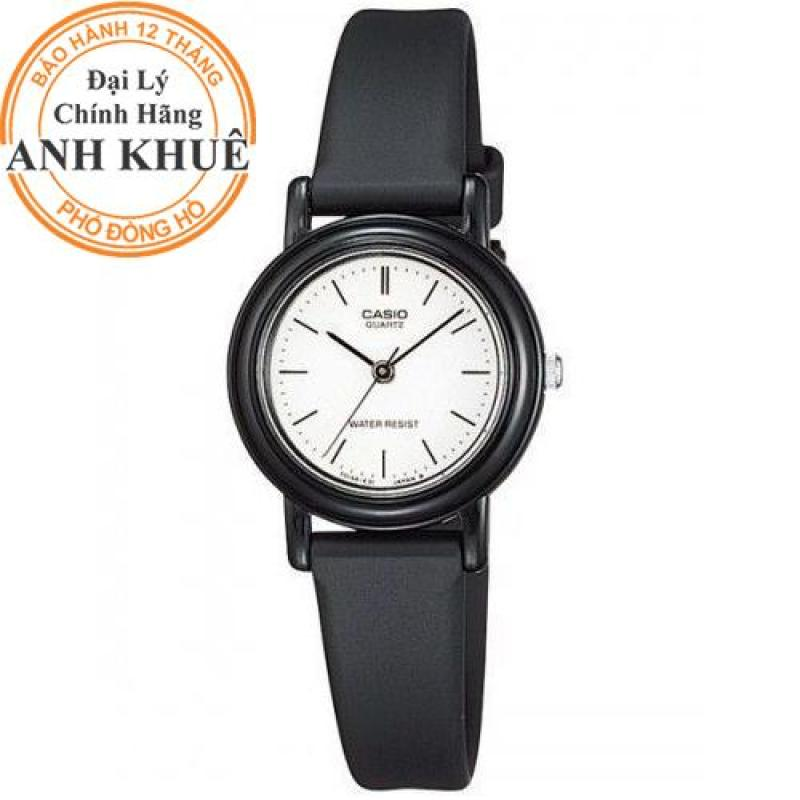 Đồng hồ nữ dây nhựa Casio Anh Khuê LQ-139BMV-7ELDF