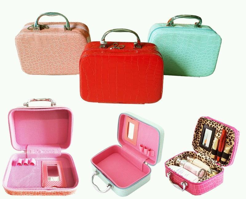 Túi kiểu vali mini đựng mỹ phẩm