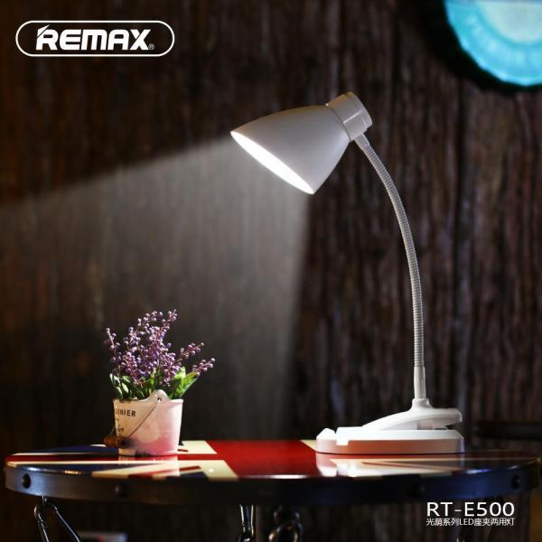 Đèn LED tích điện thông minh chống cận để bàn đa chức năng Remax - E500-2019