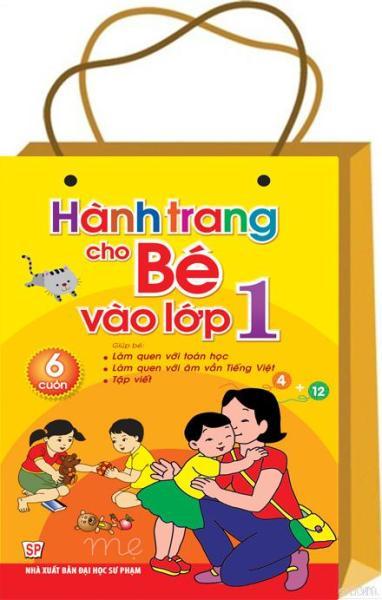Mua Sách: Hành Trang Cho Bé Vào Lớp  1 ( Túi 6 Cuốn) B90