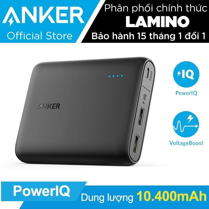 Giá Pin sạc dự phòng ANKER PowerCore 10400mAh (Đen) - Hãng phân phối chính thức
